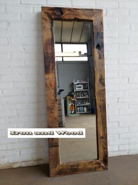 14 grenen spiegel blanke lak 147×55 l10 4