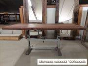 20 eettafel hardhouten wagonplanken l180x b78 3
