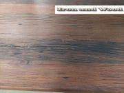 matrixpoot tafel hardhouten wagonplanken 180 x 90 11 (Medium)