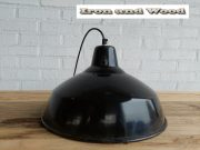 7 zwarte emaille lamp d35 h22 1