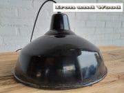 7 zwarte emaille lamp d35 h22 3
