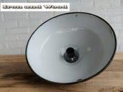 7 zwarte emaille lamp d35 h22 5